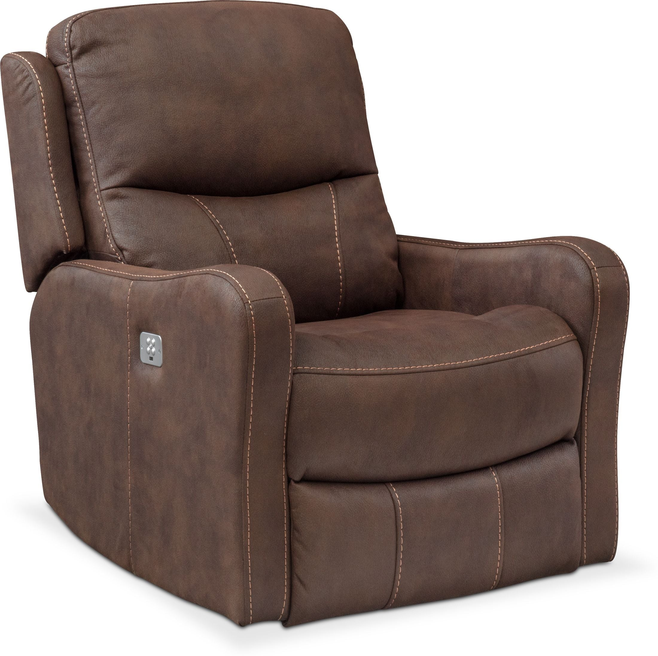 Living Room Furniture - Cabo Dual-Power Recliner