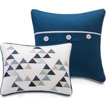 callen blue twin bedding set
