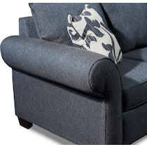 calloway blue sofa