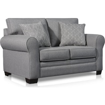 camila gray loveseat