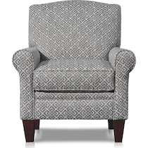 camila silver accent chair