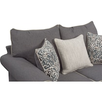 carla gray loveseat