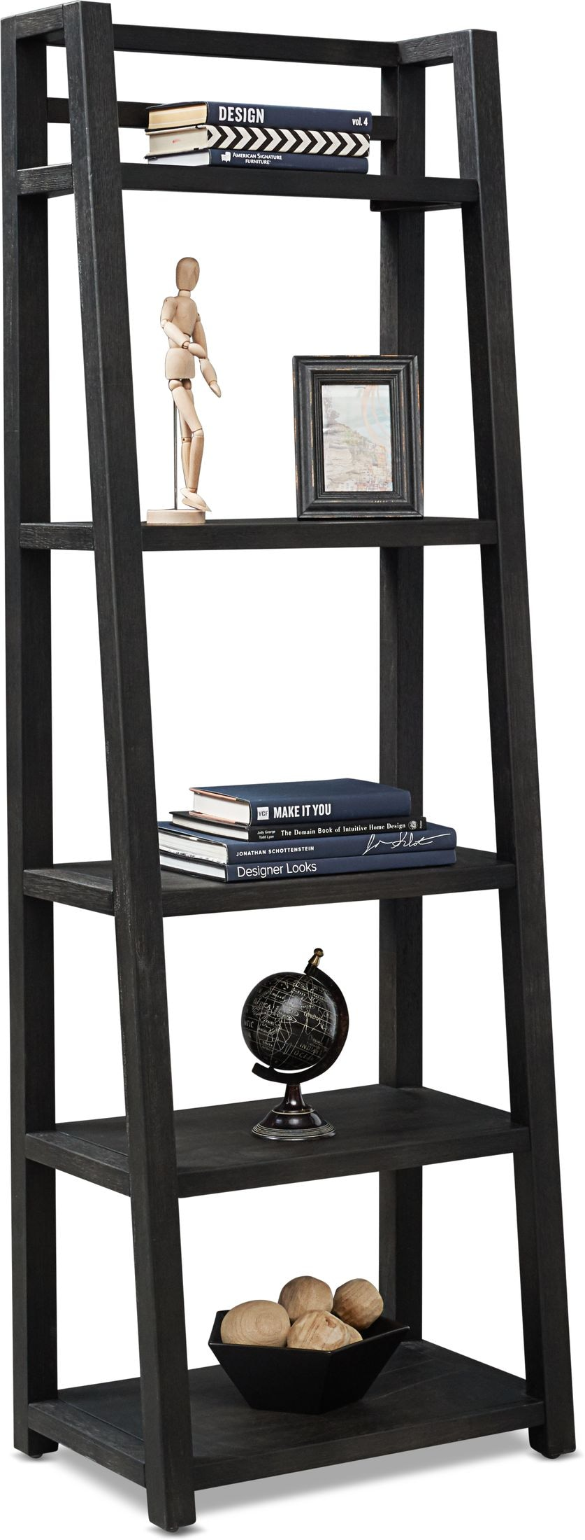 Home Office Furniture - Carlton Leaning Bookcase