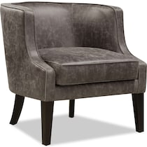 casey gray accent chair