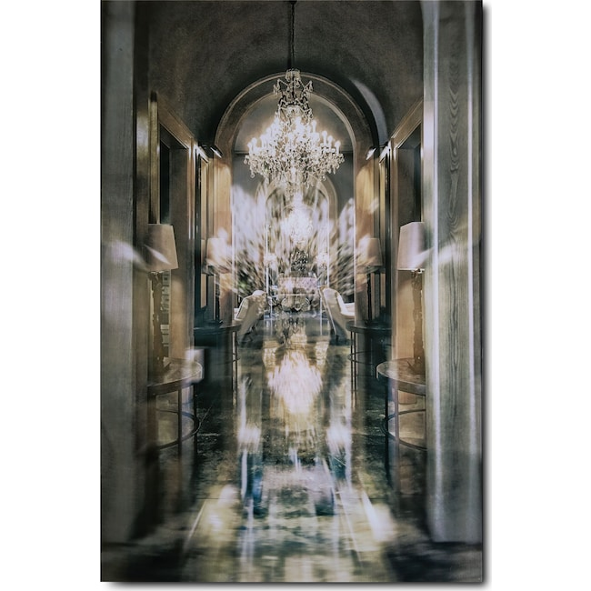 Home Accessories - Chandelier Alley Wall Art