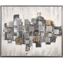 chaos gray wall art