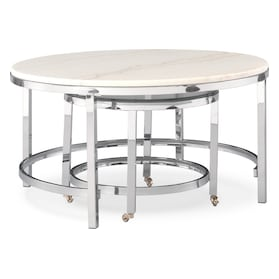 Charisma Marble Nesting Coffee Table