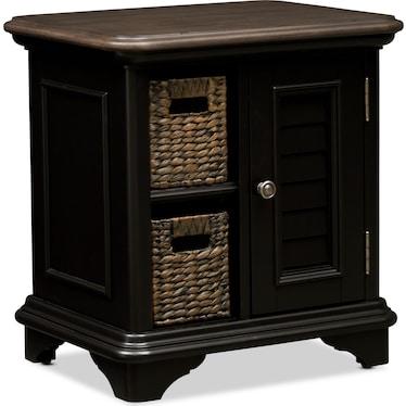 Charleston Chairside Table - Black