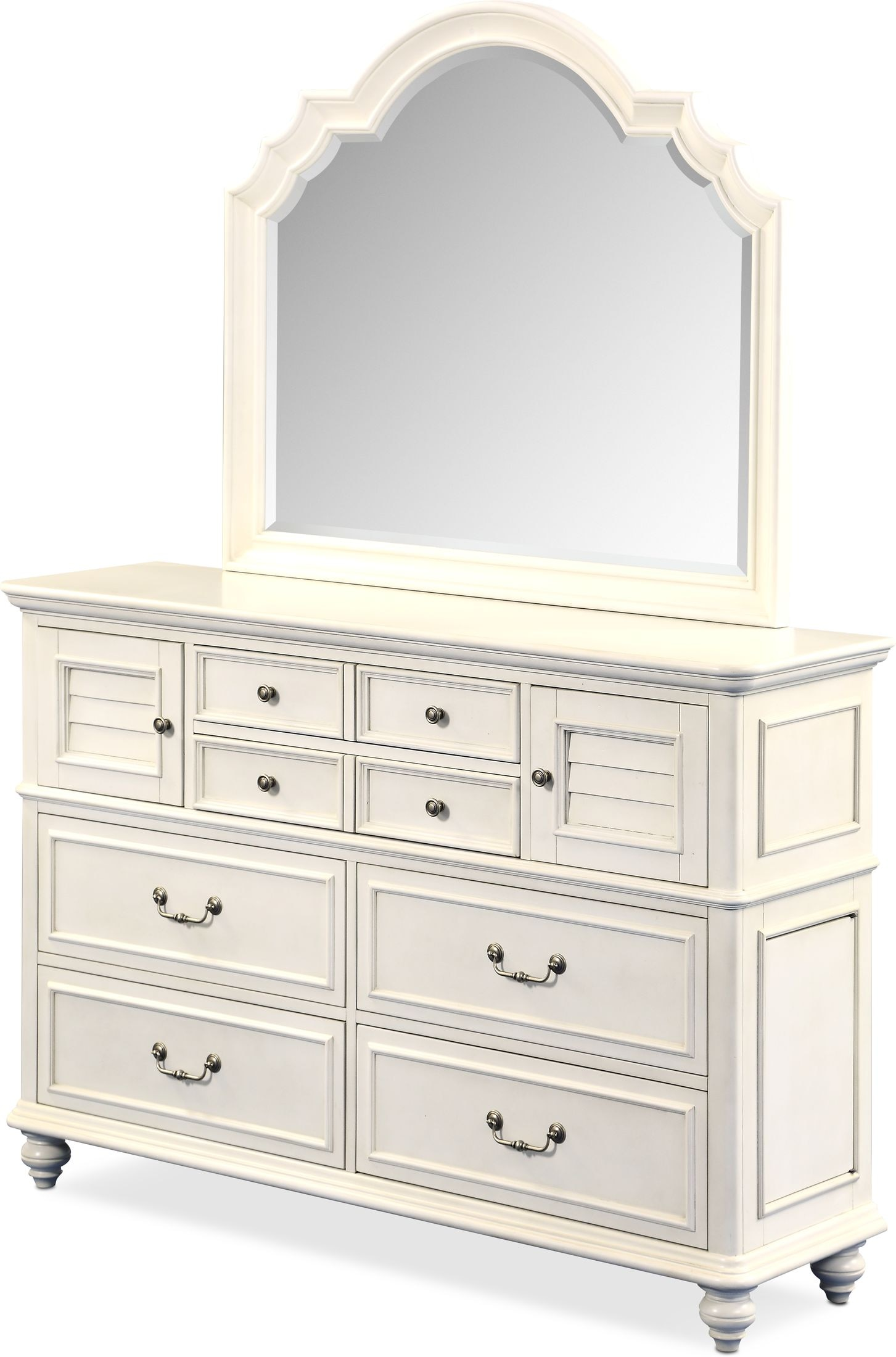 Charleston Dresser And Mirror American Signature Furniture
