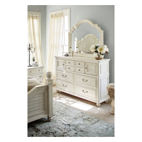 Charleston Dresser and Mirror