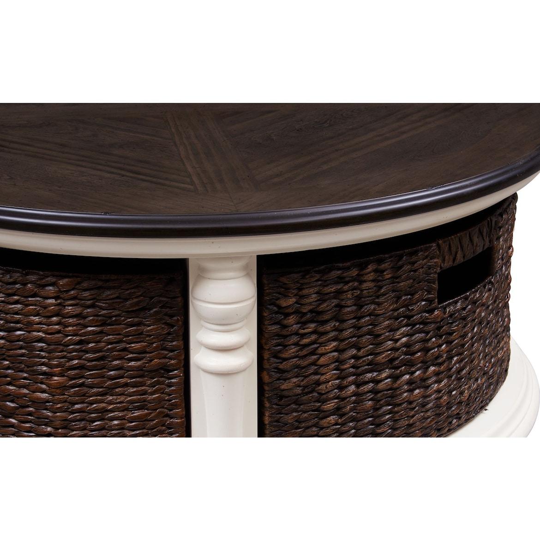 charleston coffee table  american signature furniture