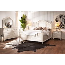 charleston white nightstand