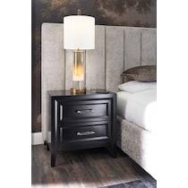 charlie black nightstand