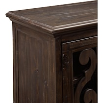 charthouse occasional dark brown tv stand