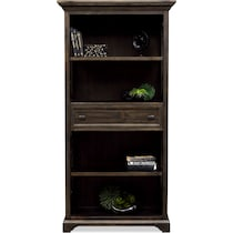 charthouse office gray bookcase