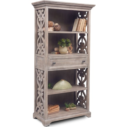 Charthouse Bookcase - Gray