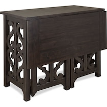 charthouse dark brown  pc counter height dining room