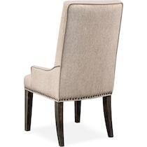charthouse dark brown chair