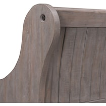 charthouse gray bench