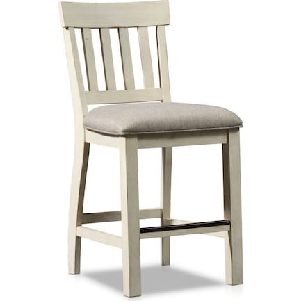 Charthouse Counter-Height Stool - Alabaster