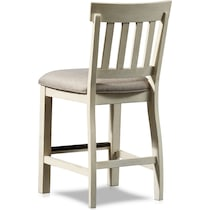 charthouse white counter height stool