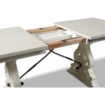 charthouse white counter height table