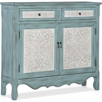 chesterland blue accent chest