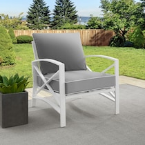 clarion gray outdoor chair