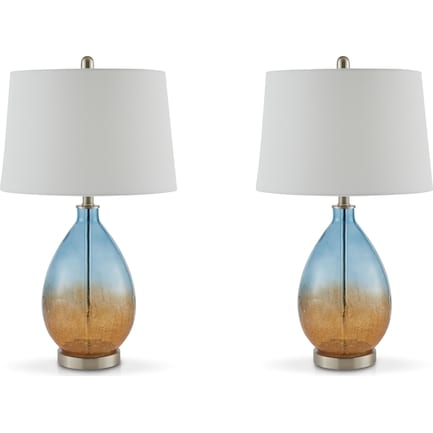Clarita Set of 2 Table Lamps
