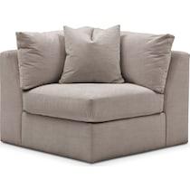 collin gray corner chair