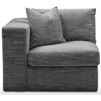 collin gray left arm facing chair