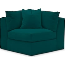 collin toscana peacock corner chair