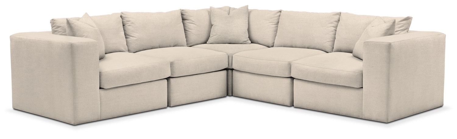 Living Room Furniture - Collin 5-Piece Sectional