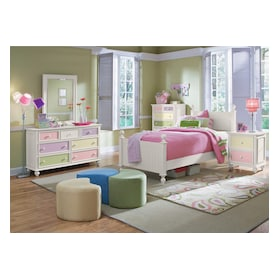 Colorworks Dresser and Mirror