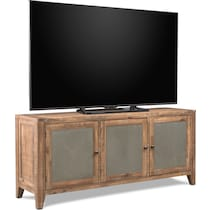 colt distressed natural tv stand