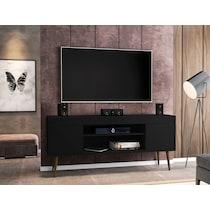 columbia black tv stand