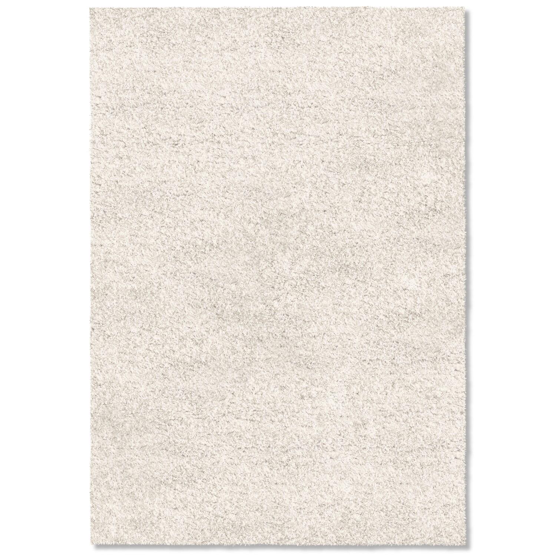Rugs - Comfort Shag Area Rug - White