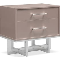 concerto light brown nightstand