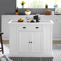 conway white kitchen island