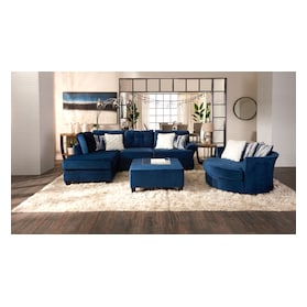 Cordelle 2-Piece Sectional with Chaise + FREE OTTOMAN