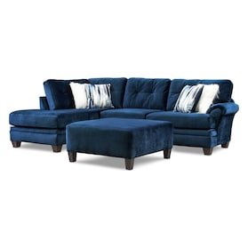 Cordelle 2-Piece Sectional with Chaise and Ottoman