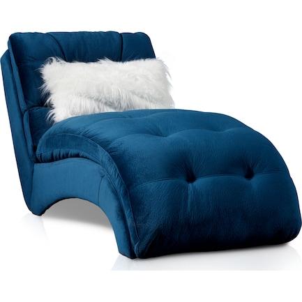 Cordelle Chaise - Blue