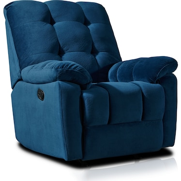 Cordelle Manual Recliner - Blue