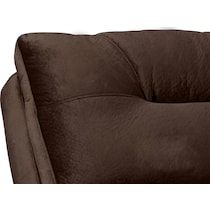 cordelle dark brown chaise