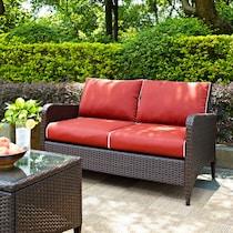 corona sangria sangria outdoor loveseat