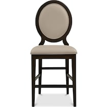 cosmo ii merlot counter height stool