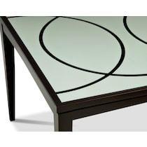 cosmo dark brown table