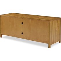 coventry light brown tv stand
