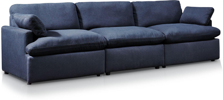 Living Room Furniture - Cozy 3-Piece Power Reclining Sofa