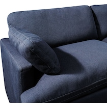 cozy blue  pc power reclining sectional